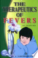 Therapeutics Of Fever : and differentiation of fevers seems...