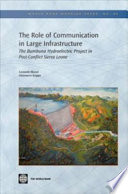 The Role of Communication in Large Infrastructure