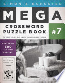 Simon   Schuster Mega Crossword Puzzle Book  7