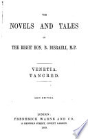 The Novels and Tales of the Right Hon  B  Disraeli  M P