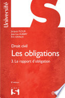 Droit Civil Les Obligations Tome 3 Le Rapport D Obligation