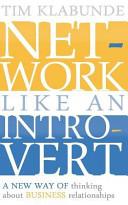 Network Like an Introvert
