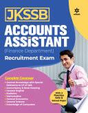 Jkssb Accounts Assistant Finance Department Exam Guide 2021