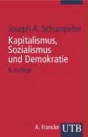 Kapitalismus  Sozialismus und Demokratie