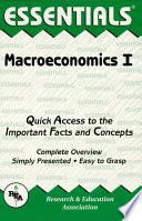 Macroeconomics I Essentials