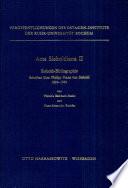 Siebold-Bibliographie