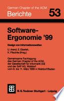 Software Ergonomie    99