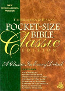Bible New International Version Pocket Classic Hunt Green book