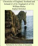 download ebook chronicles of england, scotland and ireland (2 of 6): england (2 of 12) william rufus pdf epub
