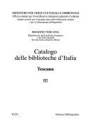 Catalogo delle biblioteche d Italia