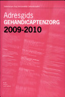 Adresgids gehandicaptenzorg 2009-2010