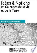 Dictionnaire des Id  es   Notions en Sciences de la vie et de la Terre