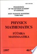 1997 - Vol. 46, Nos. 1-2