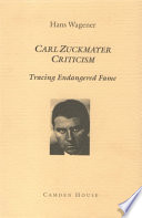 Carl Zuckmayer Criticism