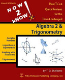 Now 2 Know Algebra 2 Trigonometry