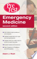 Emergency Medicine PreTest Self Assessment and Review  Second Edition