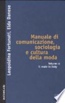 Manuale di comunicazione  sociologia e cultura della moda