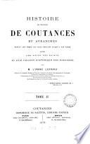 Histoire du diocèse de Coutances et Avranches