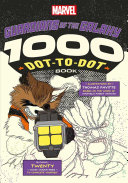 Marvel Guardians of the Galaxy 1000 Dot to dot Book