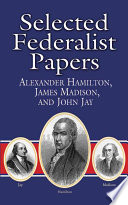 Book Selected Federalist Papers