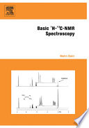 Basic 1h And 13c Nmr Spectroscopy book