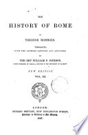 The History of Rome by Theodor Mommsen