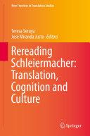 download ebook rereading schleiermacher: translation, cognition and culture pdf epub