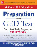 McGraw Hill Education Preparation for the GED   Test