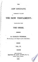 The Holy Bible  New Covenant
