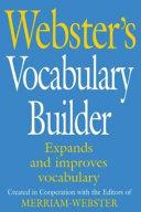 Webster s Vocabulary Builder