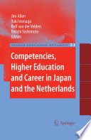 Competencies  Higher Education and Career in Japan and the Netherlands