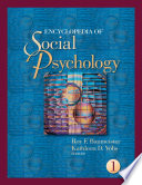 Encyclopedia of Social Psychology