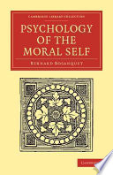 Psychology of the Moral Self