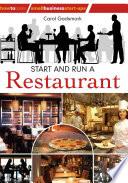 Start And Run A Restaurant
