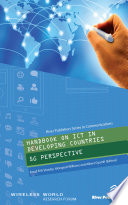 Handbook on ICT in Developing Countries: 5G Perspective: