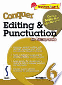 Ebook e-Conquer Editing & Punctuation Workbook 6 Epub J. Lee Apps Read Mobile