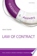 Questions   Answers Law of Contract