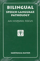 Bilingual Speech language Pathology