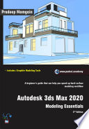 Autodesk 3ds Max 2020 Modeling Essentials 2nd Edition
