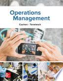 Operations Management  1e