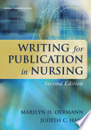 Writing For Publication In Nursing Second Edition