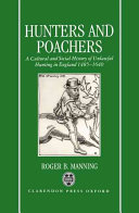 Hunters And Poachers : and covert forms of protest, and adds much...