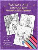 Fantasy Art Coloring Book