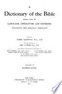 Dictionary of the Bible  Pleroma Zuzim