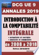 ANNALES 2019 du DCG 9 actualis  es et corrig  es   Introduction    la comptabilit