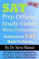 SAT Prep Official Study Guide Math Companion