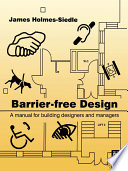 illustration Barrier-free Design, A Manual for Building Designers and Managers