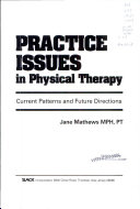 Practice Issues in Physical Therapy