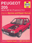 Peugeot 205 1983 to 1997  A to P Registration  Petrol
