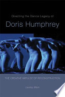 Directing the Dance Legacy of Doris Humphrey Four Of Doris Humphrey S Major